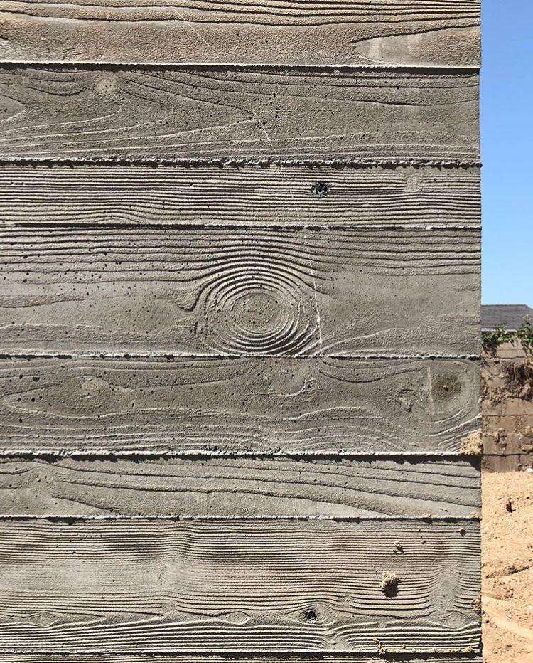 Woodcrete Board Formed Concrete Concrete Texture Wall Texture Patterns