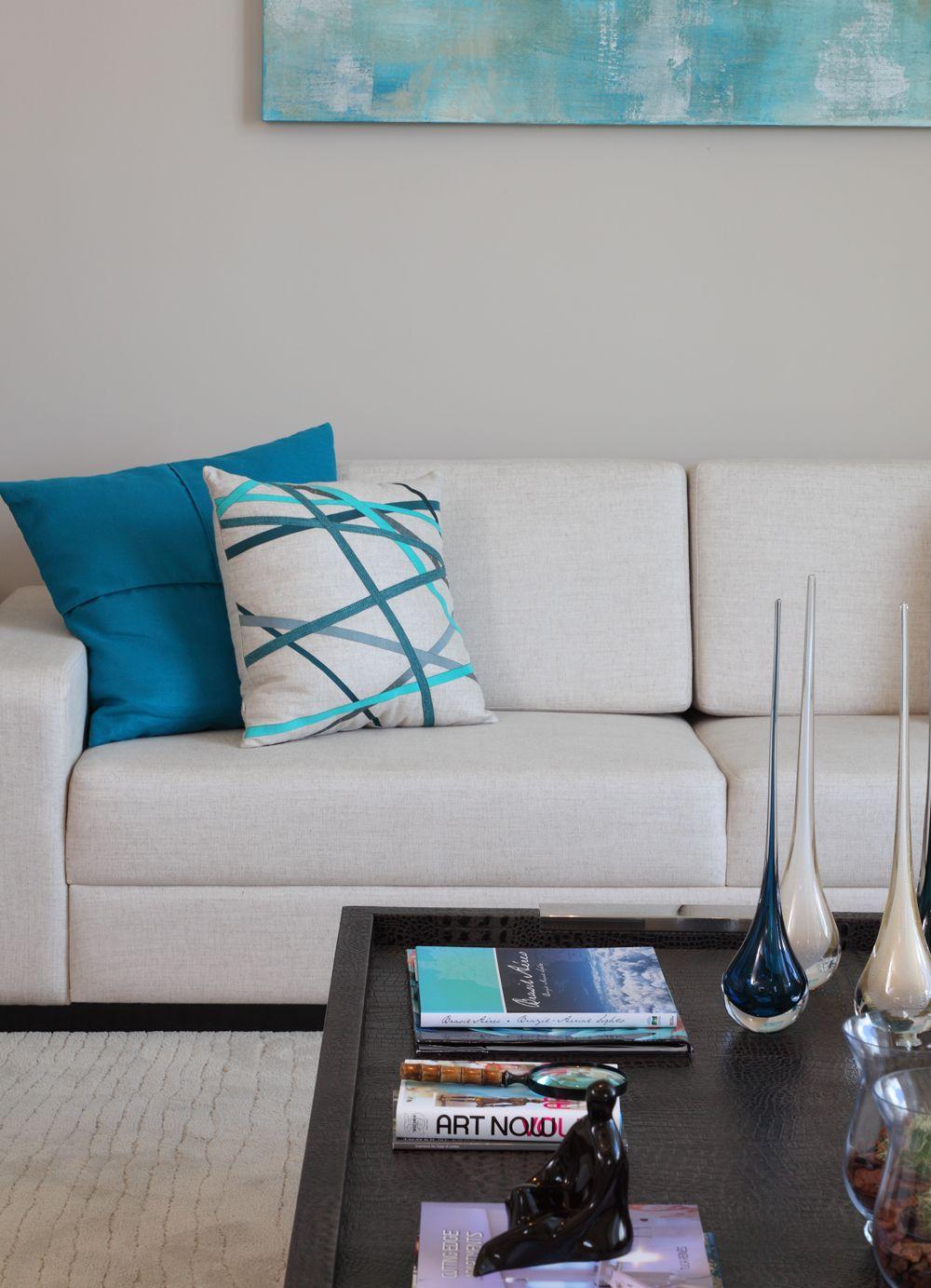 Casa de valentina i com vista para o parque i overlooking - Sofa azul turquesa ...