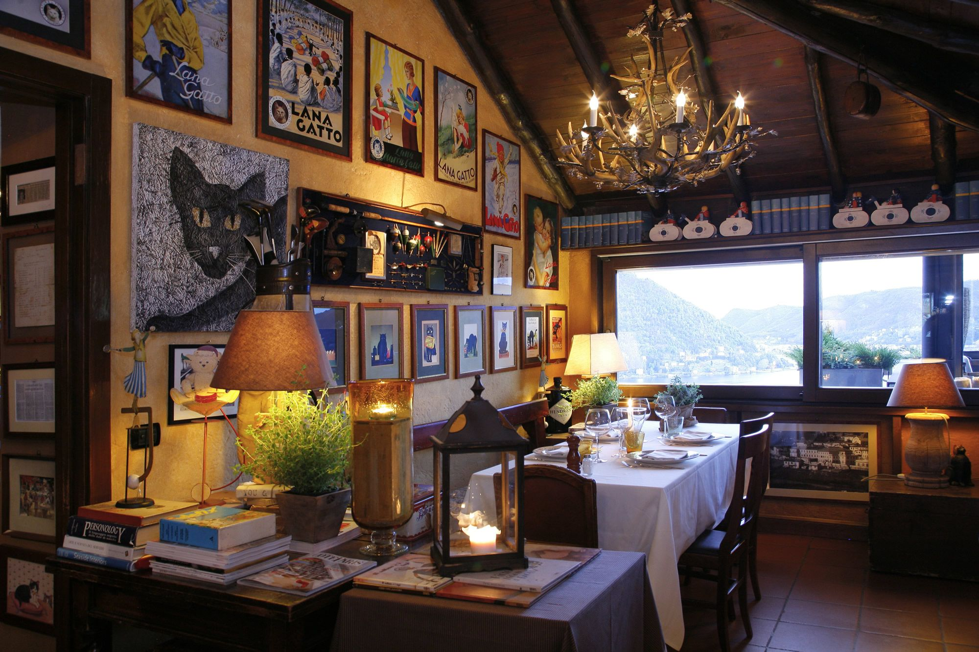Il Gatto Nero Restaurant On Lake Como Read About It In Ng Traveler