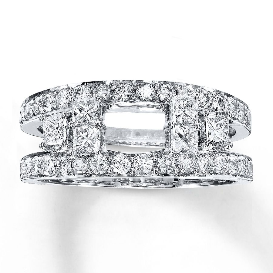 This diamond enhancer ring provides a wonderful fit around