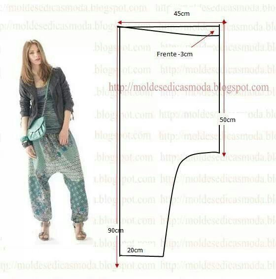 Pantalon | luma 2 | Pinterest | Patrones, Costura y Patronaje
