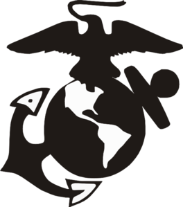 marine logo clip art vector clip art online royalty free public rh pinterest com Marine Corps Emblem Stencil Marine Corps Emblem Graphics