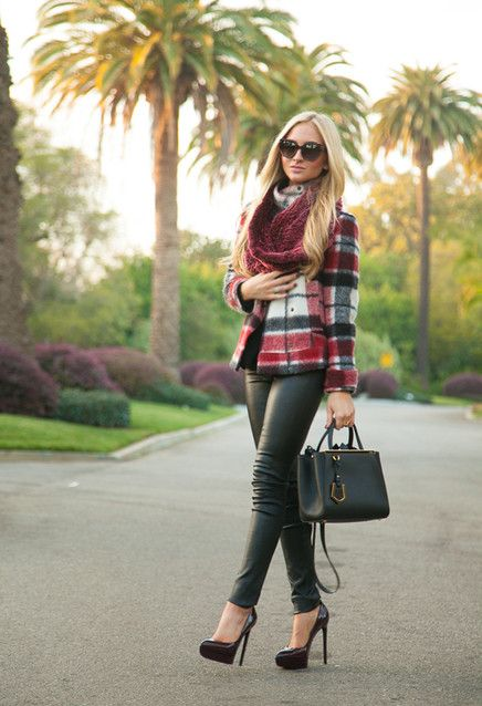 15 Ways To Wear Scarf in The Chilly Fall Days –