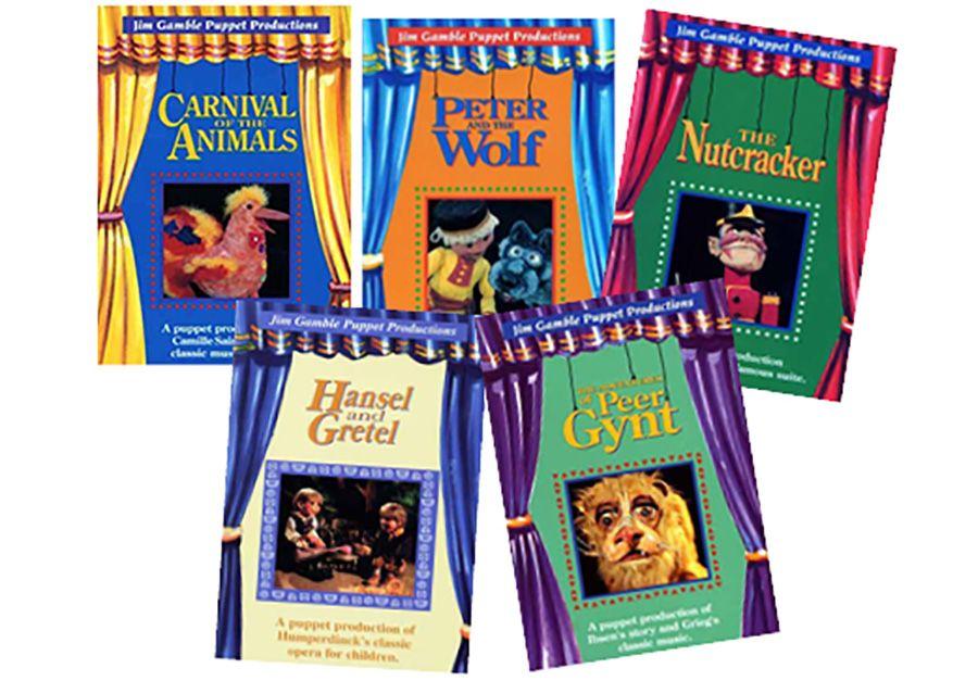 PUPPET CLASSICS Set of 5 DVDs