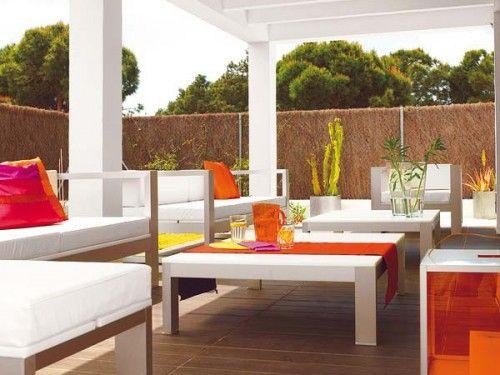 Decorar la terraza el porche el patio terrace ideas for Decorar porche casa
