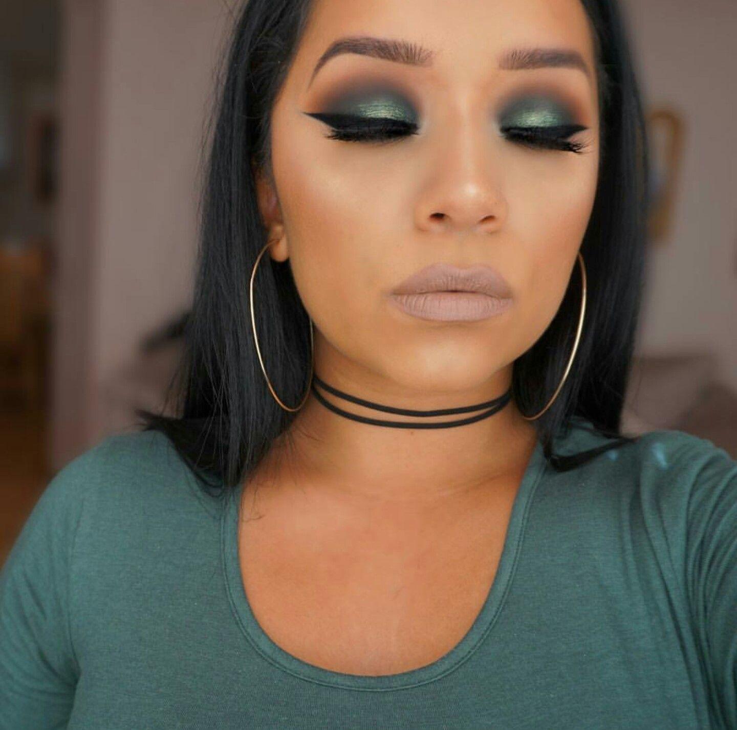 IG ohmglashes Green makeup, Fall makeup tutorial, Fall