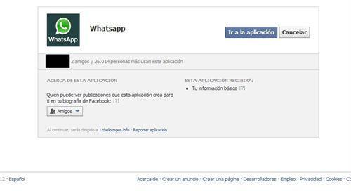 Aplicacion fraudulenta de WhatsApp en Facebook    http://www.europapress.es/portaltic/internet/noticia-facebook-bloquea-aplicacion-fraudulenta-whatsapp-20120820132826.html