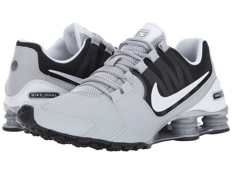 newest 60de6 7d682 ... germany nike shox avenue leather mens running shoes wolf grey white  anthracite 20d4f b5ff7