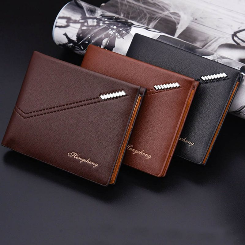 7cd319612415 Men s Credit Id Card Rfid Holder Wallet Security Bifold Coin Cash Purse  Clutch