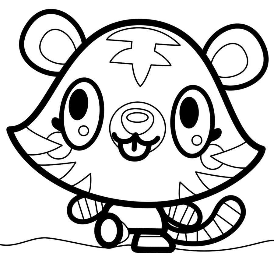 14+ Printable moshi monsters coloring pages ideas