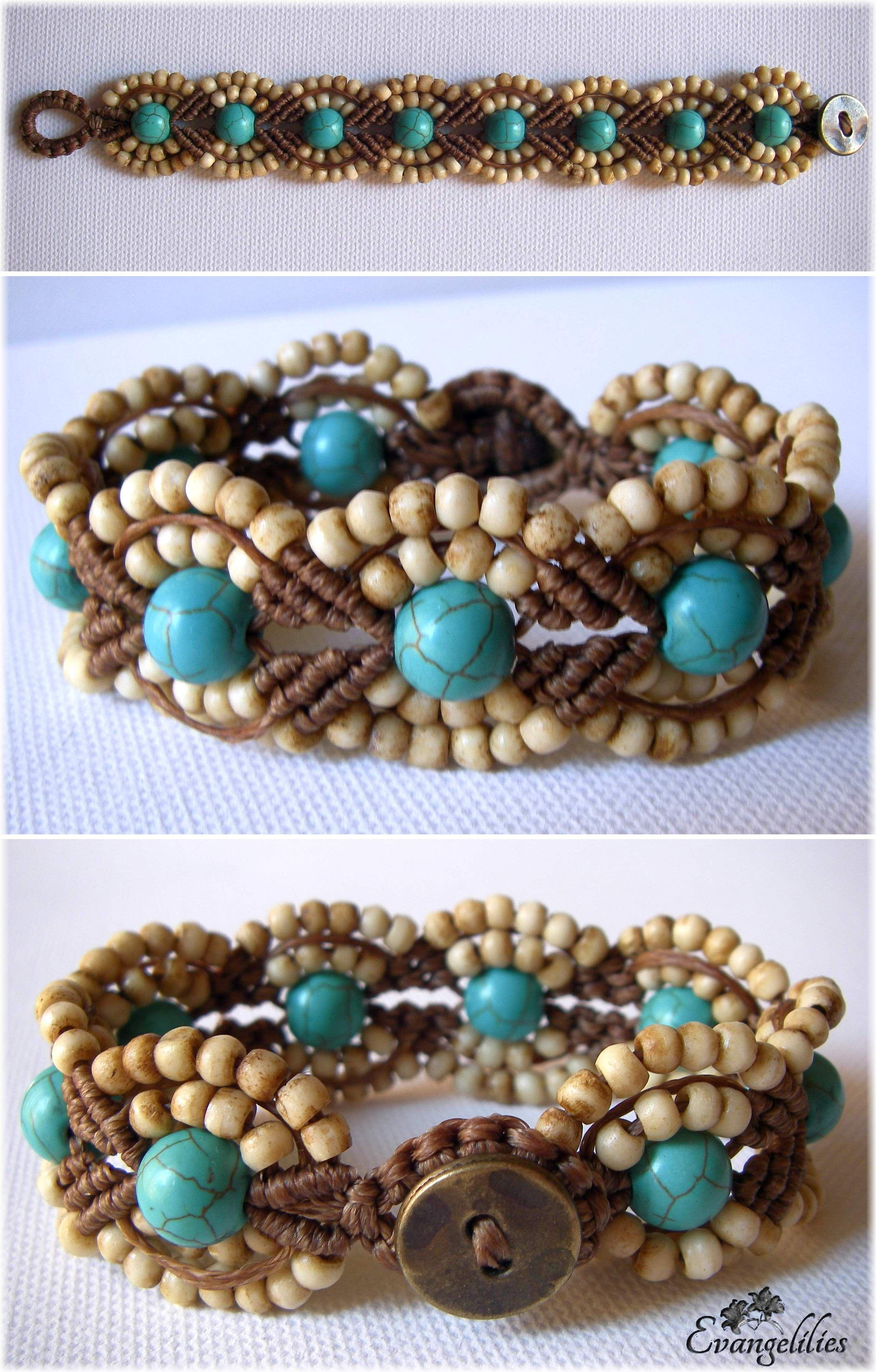 I love this pattern! It makes a wonderful macrame bracelet ...