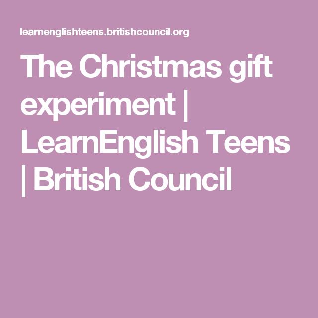 The Christmas gift experiment (с изображениями)