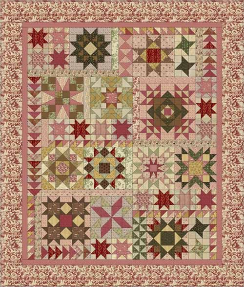 McCall's Quilting A Sparkling Sampler Block of the Month | Sampler ... : mccalls quilting - Adamdwight.com