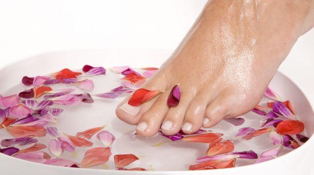 Fußpflege : Einfach selber machen, Hoch hinaus
