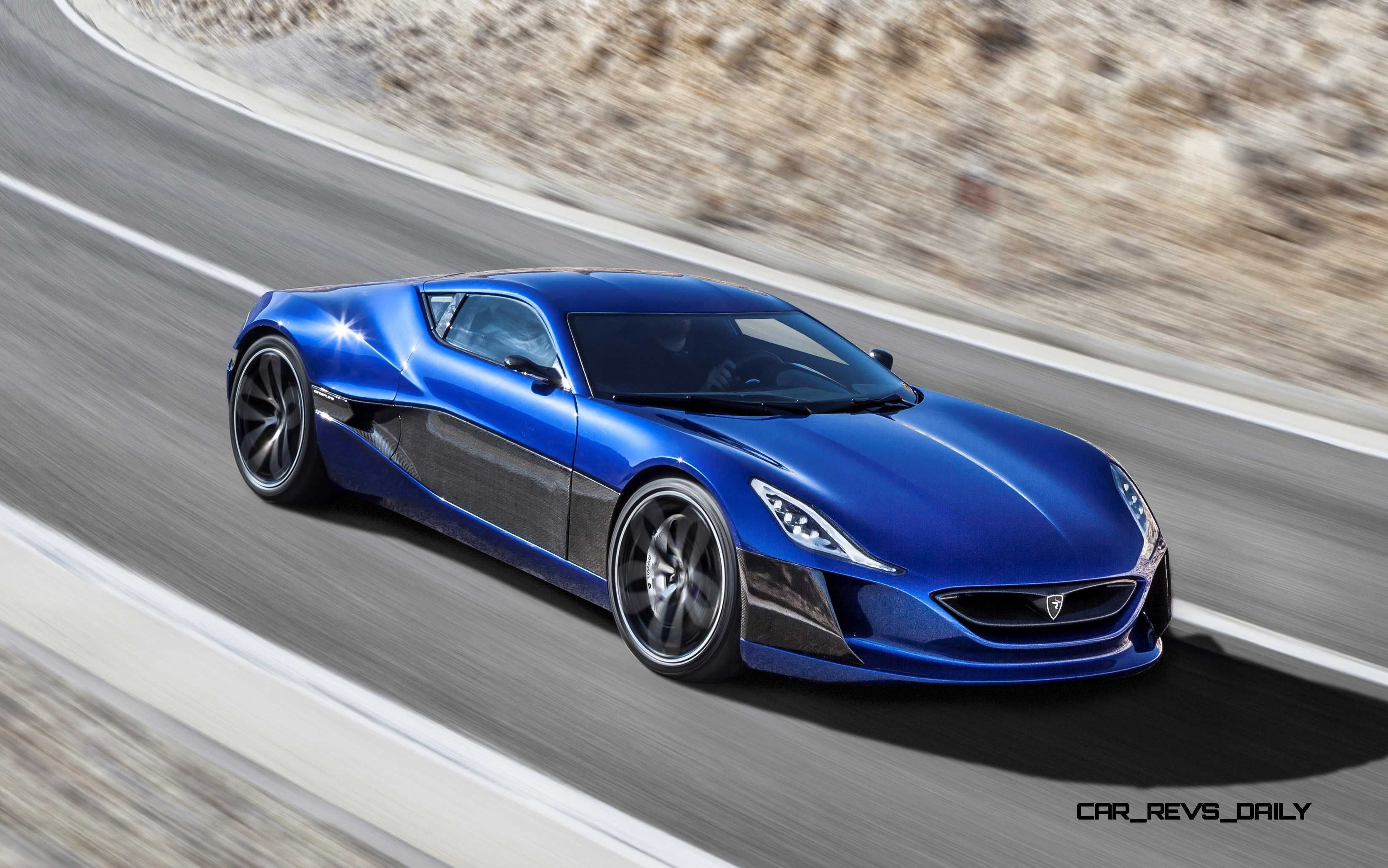 1088HP RIMAC Concept_One eHypercar Nearing Production
