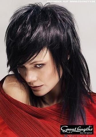Frisuren mittellang stufig fransig | frisuren | Hair cuts ...