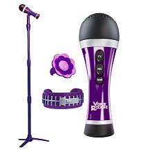 Voice Rockrz Microphone And Stand Purple First Act