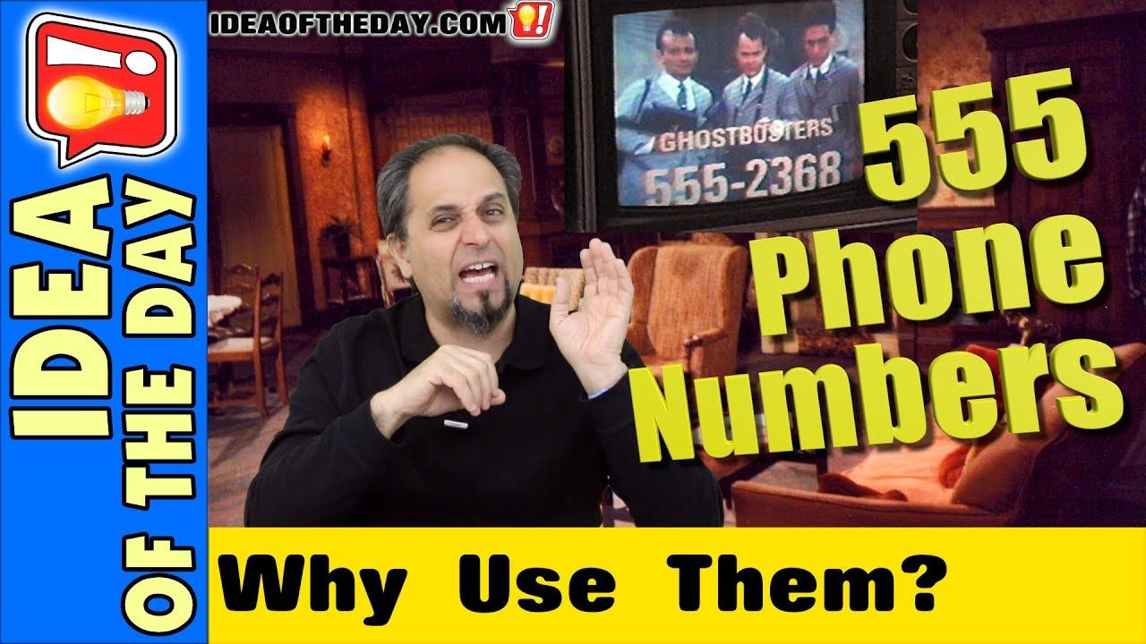 Movies Shouldn't Use 555 Phone Numbers! #ideaoftheday #vlog #movies #filmmaking (With images