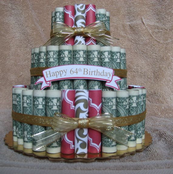 Money Cake Birthday Celebration A Fun Unquie Way to Give Money as