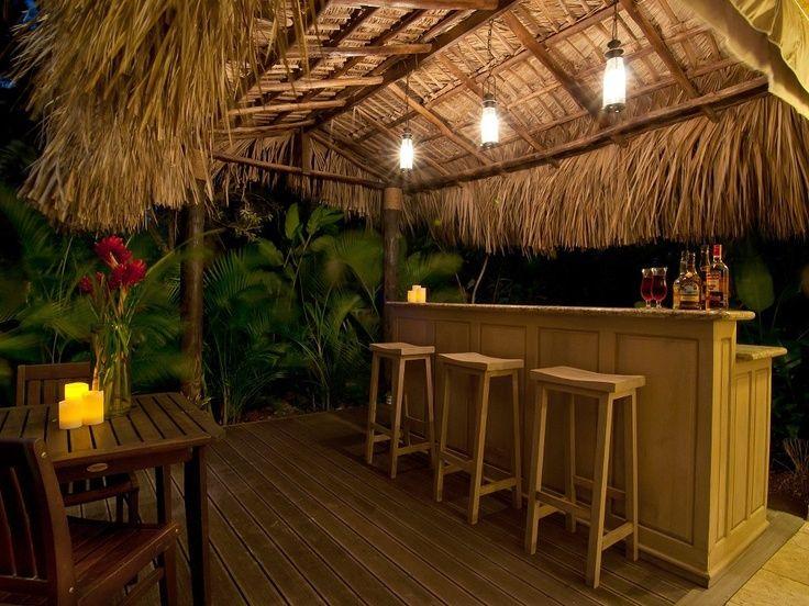 Tiki Bar Outdoor Patio Bars Ideas, Tiki Patio Decor