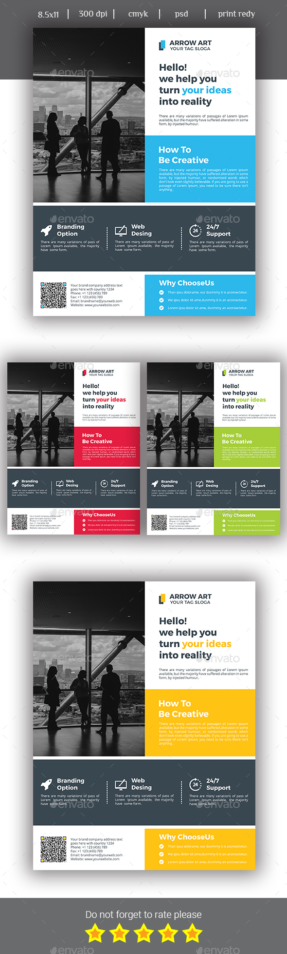 Corporate business flyer template psd flyer templates pinterest corporate business flyer template psd accmission Images