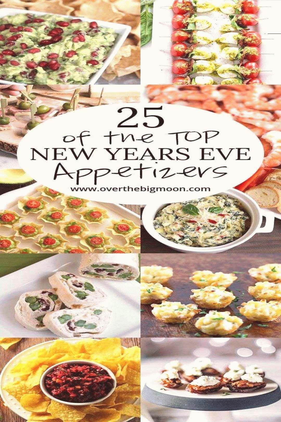 Top 25 New Years Eve Appetizers for your party