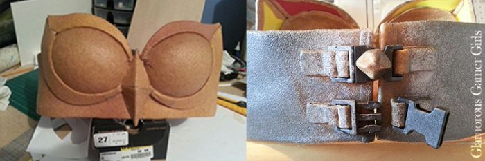 How to make a breastplate using Worbla craft foam for cosplay!