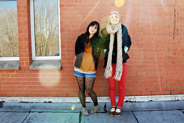 friends dress like friends: bundles of cold