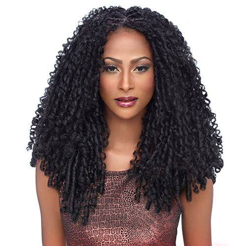 Harlem125 Synthetic Hair Braids Kima Braid Soft Dreadlock 14 Synthetic Hair Weave Curly Human Hair Wig Braided Hairstyles