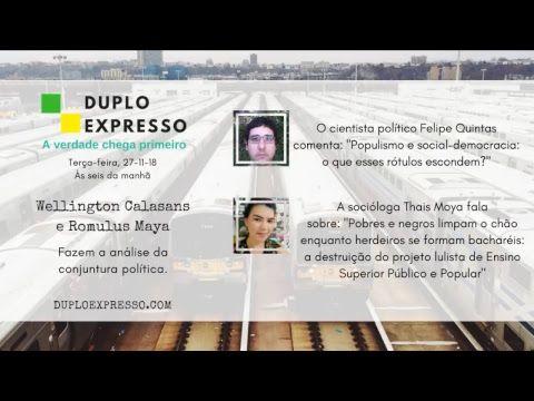 Duplo Expresso 27nov2018 Youtube Noticias E Atualidades Youtube