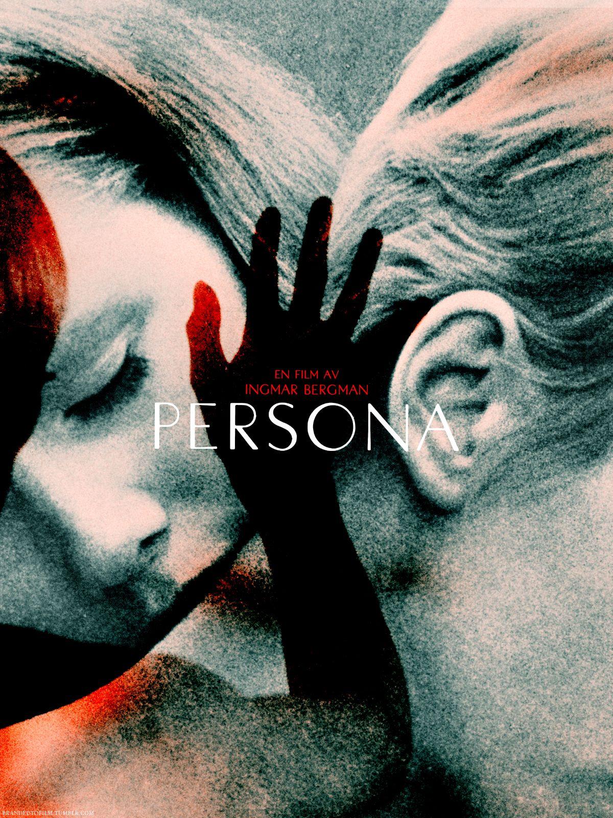 "last-picture-show: """"Ingmar Bergman, Persona, Movie Poster, 1966 "" """