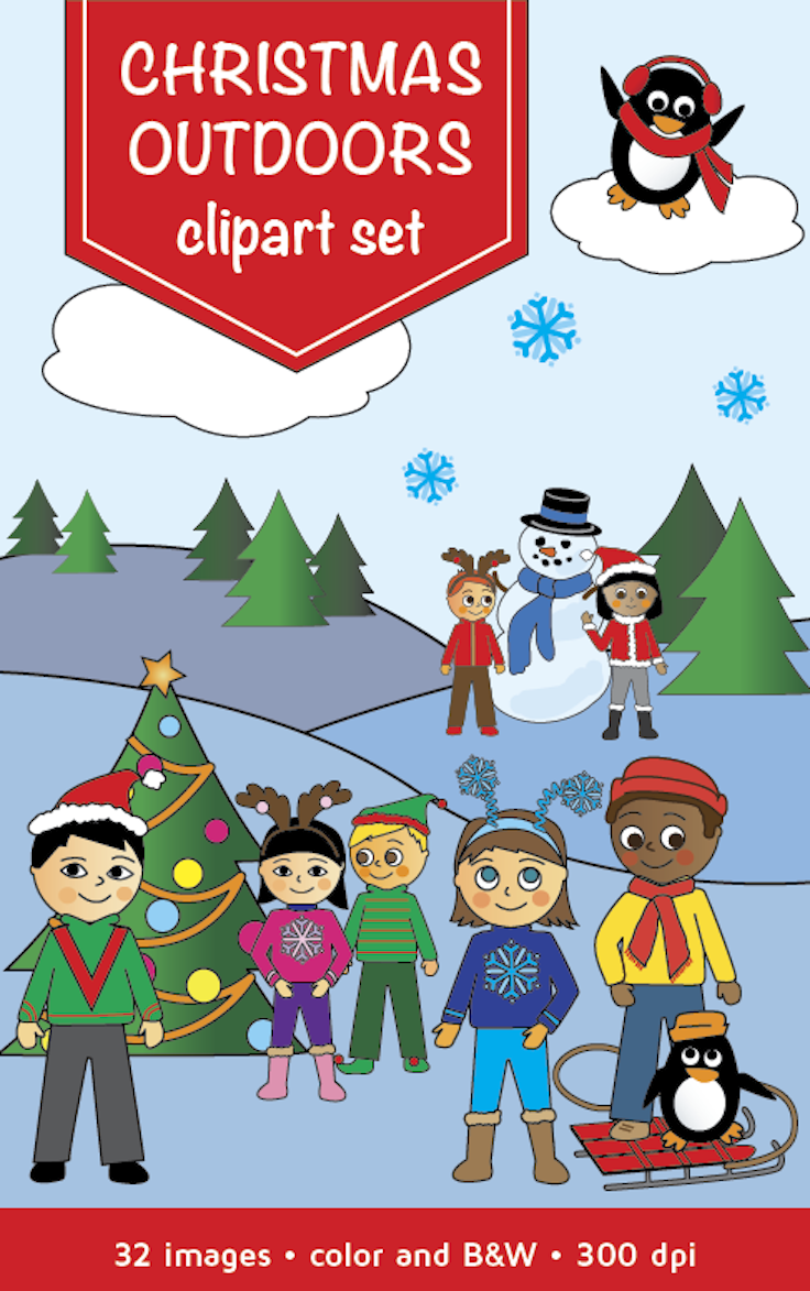 Christmas Clipart | Clipart by ClipMates | Pinterest | Christmas ...