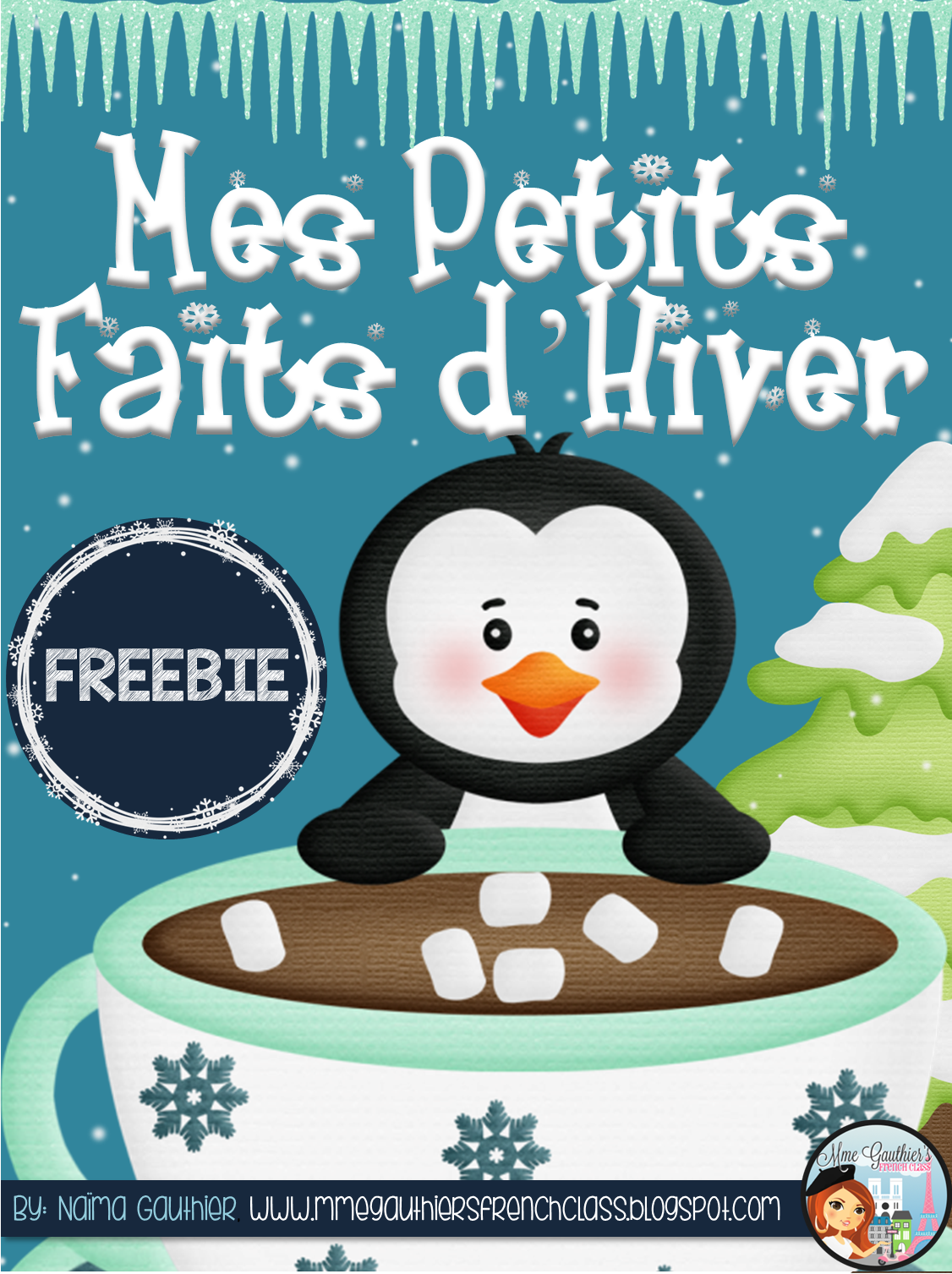 Mme Gauthier S French Class Freebie Update French Winter Writing Activity Set