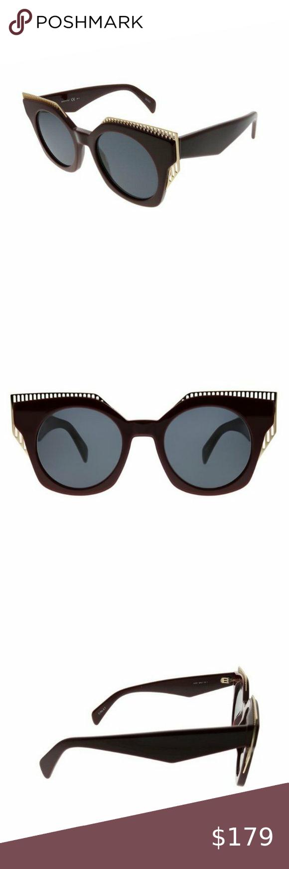 Oxydo O No 2 7 Au2 Ir 48 Sunglasses Sunglasses Sunglasses Accessories Burgundy Branding