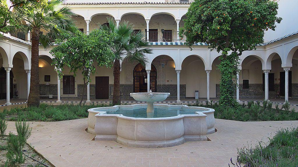 Real monasterio de santa clara sevilla patio - Casas en santa clara sevilla ...