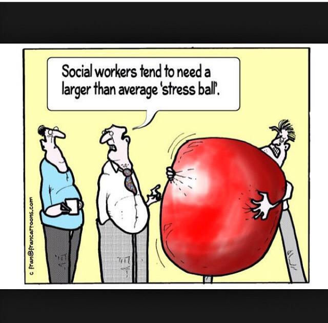 Social Work Stress Meme