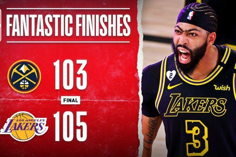 #NBAVideos: Lakers Take 2-0 Series Lead Off AD's Game-Winning Triple‼