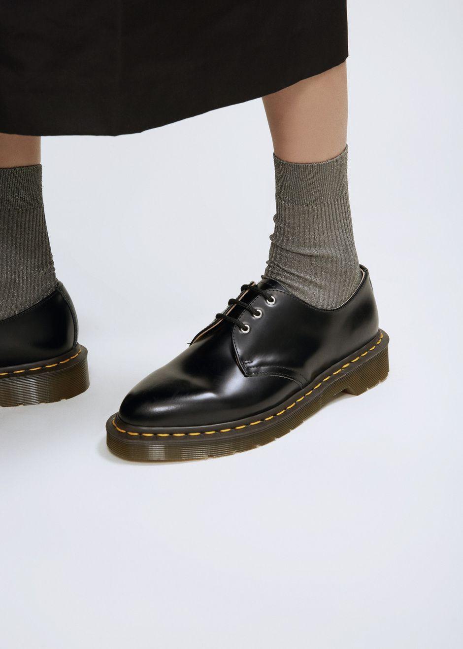 7707dee2b02c Comme des Garcons COMME Dr. Martens Dupree 3-Eye Shoe (Black ...