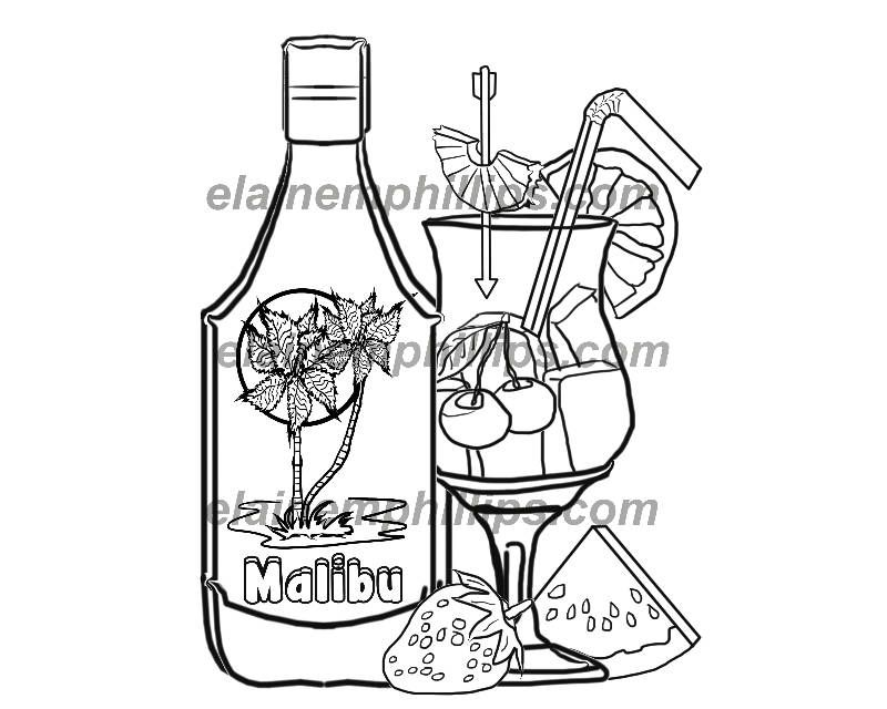 Coloring Book Pages Cocktails Party Printable Digital Coloring Book Or Coloring Page Unique Gift Wedding F Coloring Book Pages Coloring Books Coloring Pages