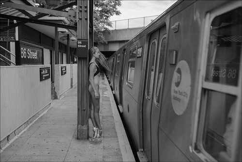 Take the elegance of a ballerina with you into the city.  Photo by Shane Shitagi for Ballerina Project.