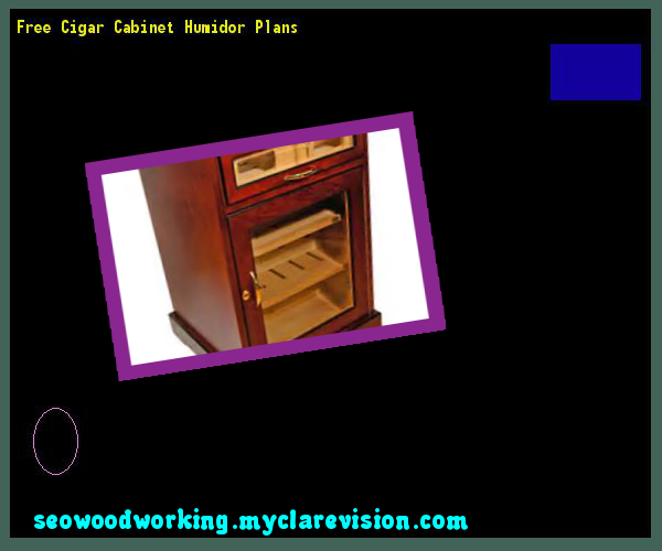 Free Cigar Cabinet Humidor Plans 182823 - Woodworking Plans and Projects!