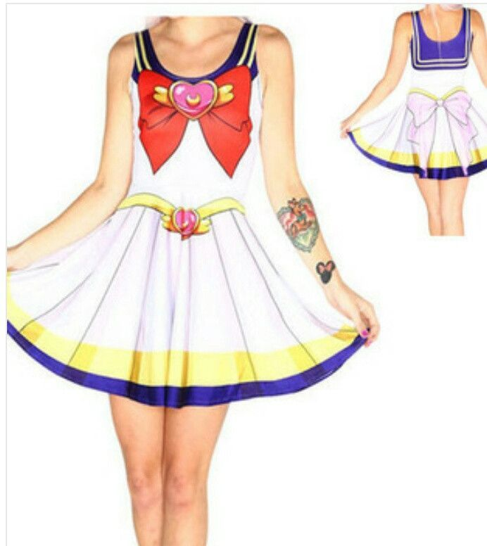 Sailor Moon Skater Dress (Additional styles & color options)