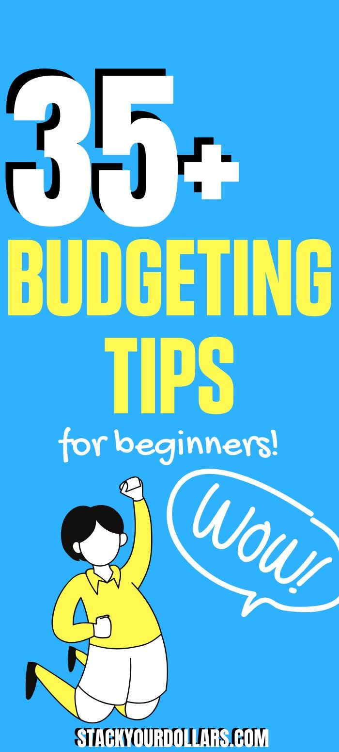 These smart budgeting tips for beginners will have you saving money better than ever before! #StackYourDollars
