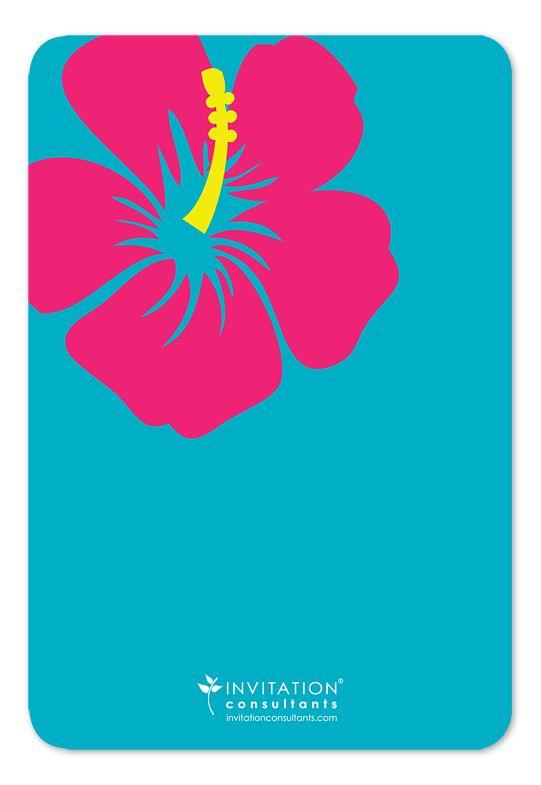 luau party - free printable summer party invitation template, Invitation templates
