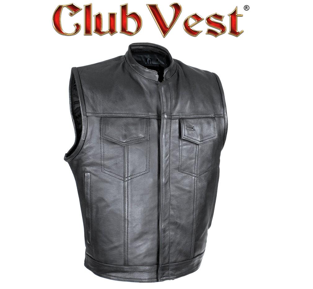 Cut off Black Denim Mens Vest Waistcoat Gilet Biker Motorcycle Jeans Leather