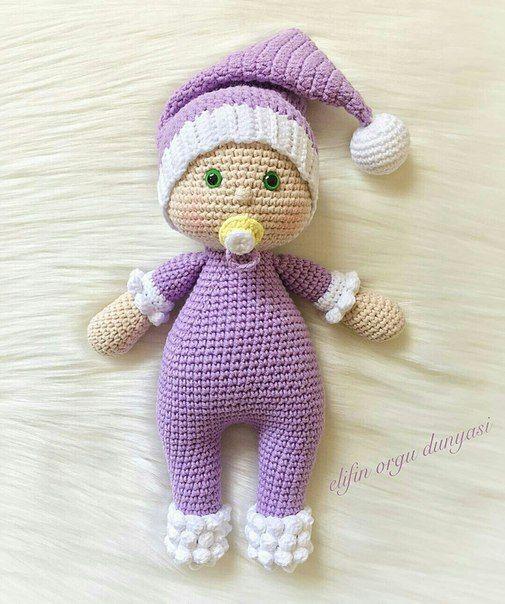 Pin By Ayla Omercikoglu On Dolls Stuffed Animal Patterns Crochet Dolls Christmas Shoebox