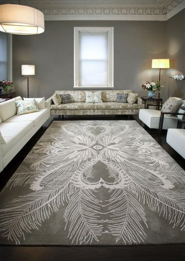 Catherine Martin Feathers Rugs