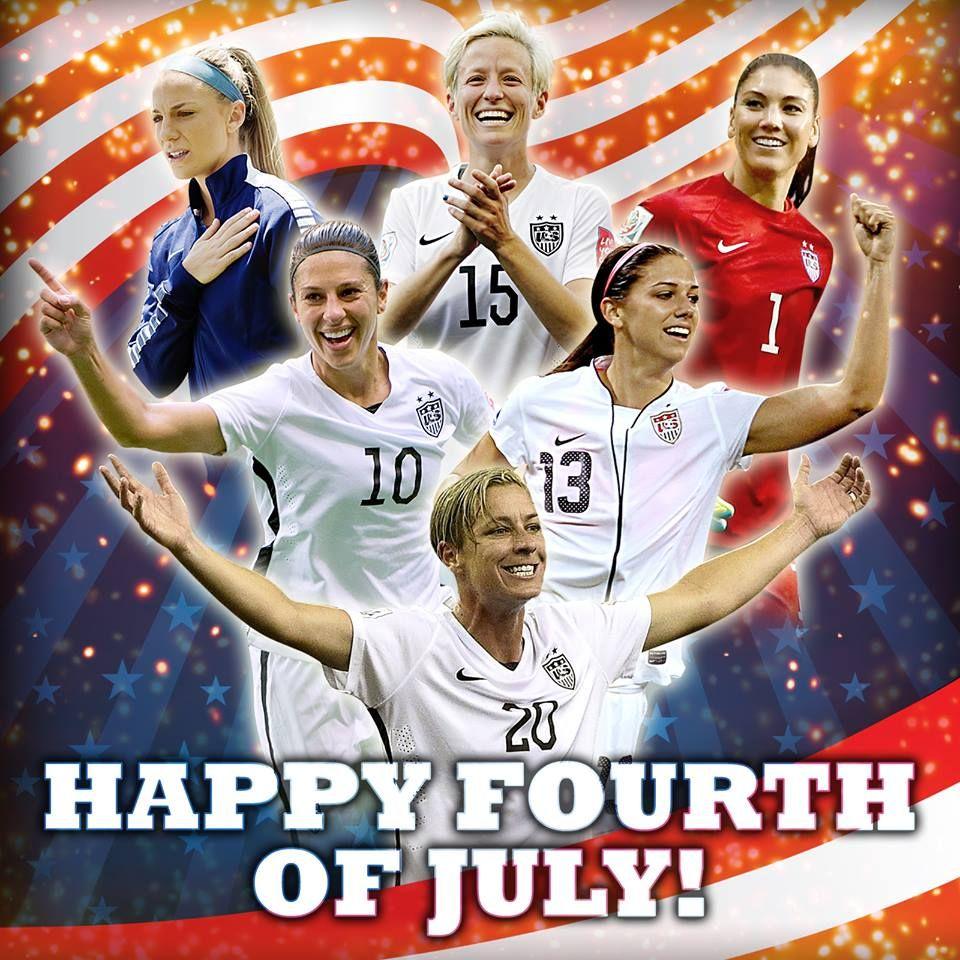 Happy 4th of July! Ladies, bring it home tomorrow! Happy