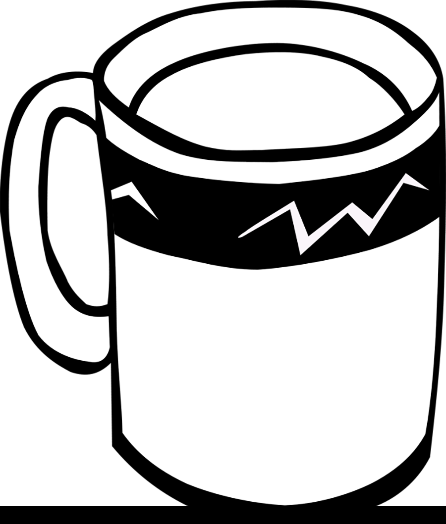 Coffee Cups For Drinking Water Coloring Pages For Kids Coloring Pages For Kids