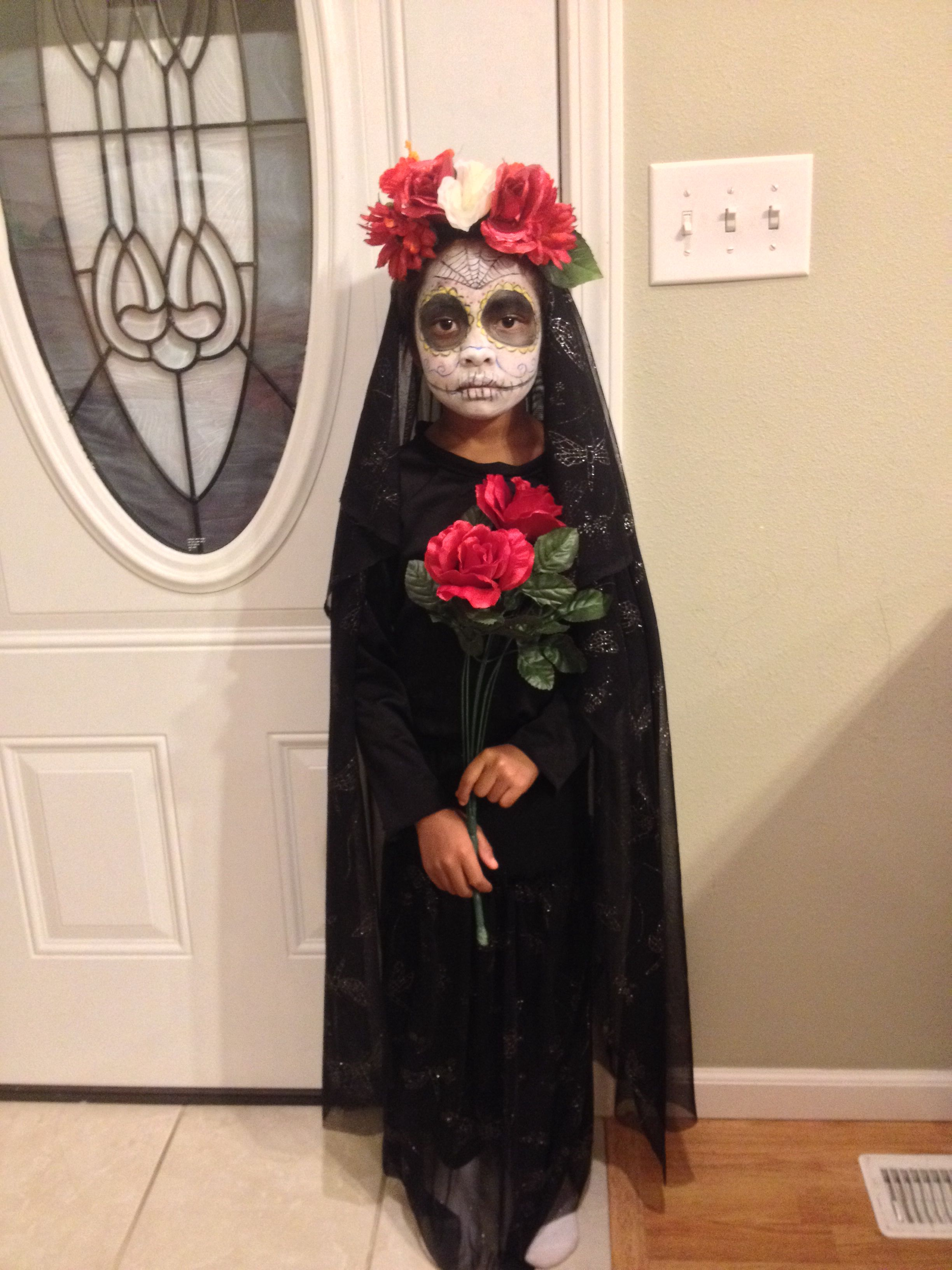 Day Of The Dead Diy Halloween Costume My Creations Pinterest